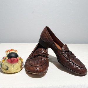 VTG Talbots| Brown slip on Loafers| Size 8.5